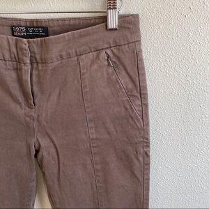 Zara Brown Skinny Pants
